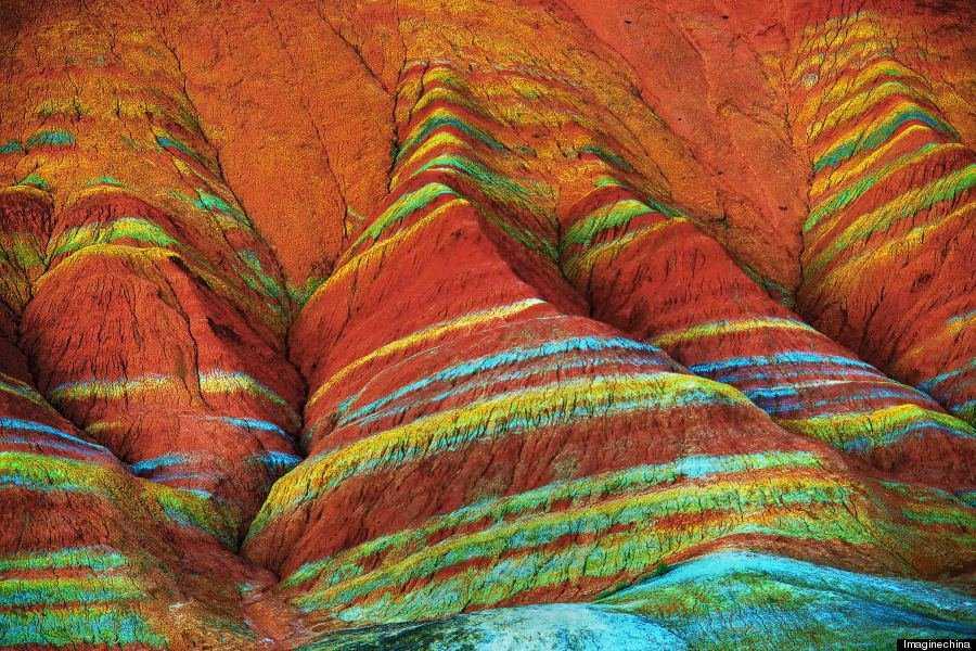 o RAINBOW MOUNTAINS 900 2 Montanhas arco íris