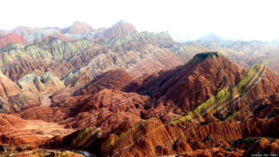 o RAINBOW MOUNTAINS 900 3 Montanhas arco íris