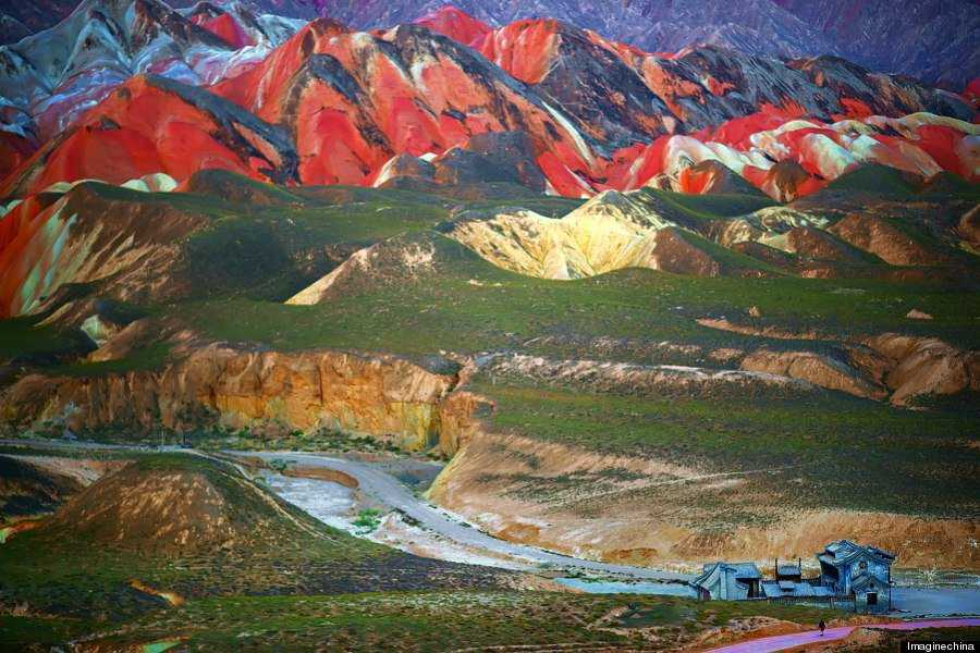 o RAINBOW MOUNTAINS 900 5 Montanhas arco íris