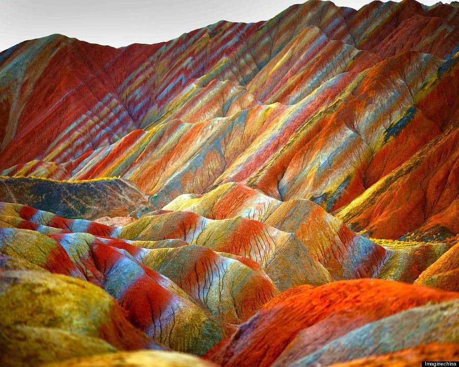 o RAINBOW MOUNTAINS 900 7 Montanhas arco íris