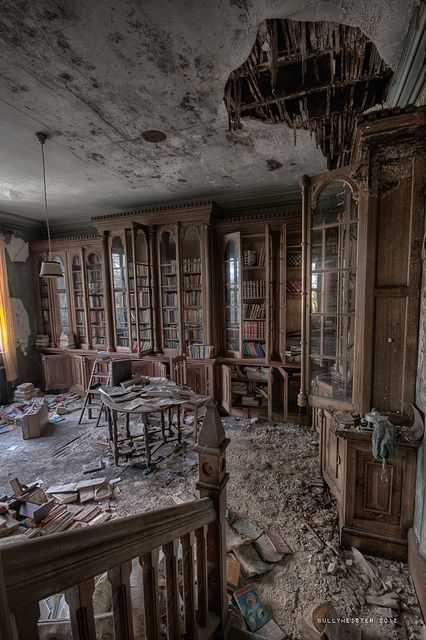 59355dea31f1e98912354751620d8e06 Casas abandonadas que parecem mal assombradas
