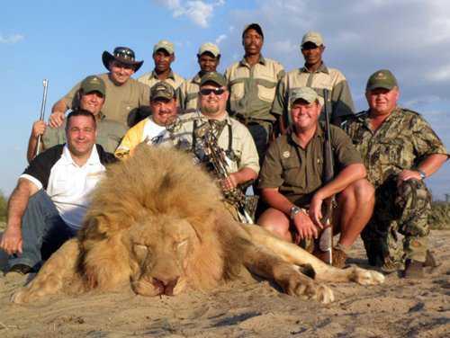 LionHunt Caçador: O pior do lixo humano
