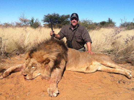 doug hamric lion Caçador: O pior do lixo humano