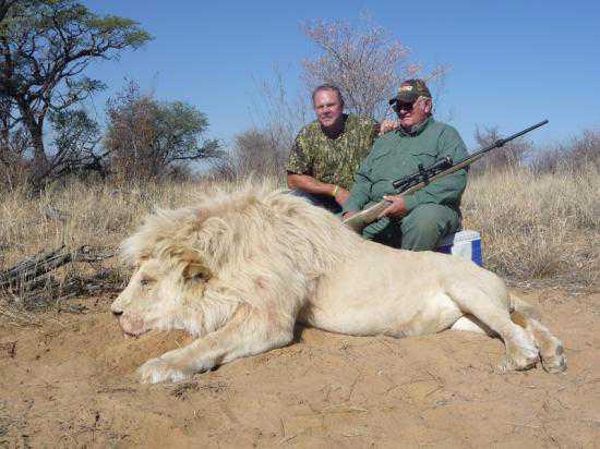 jim hall lion 2 Caçador: O pior do lixo humano