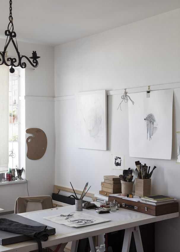 02443886ccad5c0e029d8716b554f2cf 1 Incríveis espaços de trabalho para artistas