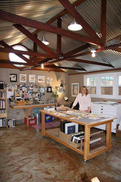 0d358f1b3215cf60228d180383045e9d Incríveis espaços de trabalho para artistas