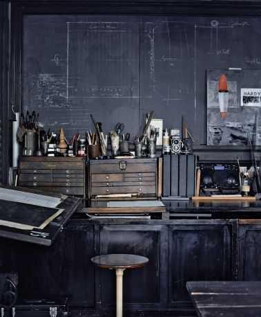 0fb29ad6f8201f00c2ce847d792ad662 Incríveis espaços de trabalho para artistas