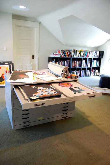1287b2ebfeaf168b7ab424ddf9f1fcd4 Incríveis espaços de trabalho para artistas