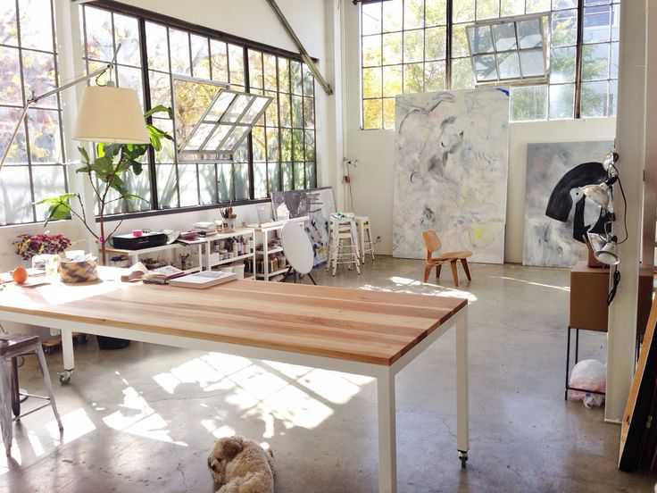 2e2c0505b29a99d922f78bf4a33ae025 Incríveis espaços de trabalho para artistas