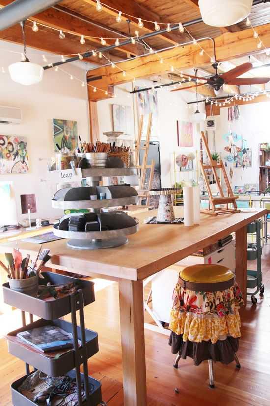 31f9d85fdbea035e2f3c07a43e37c30d Incríveis espaços de trabalho para artistas