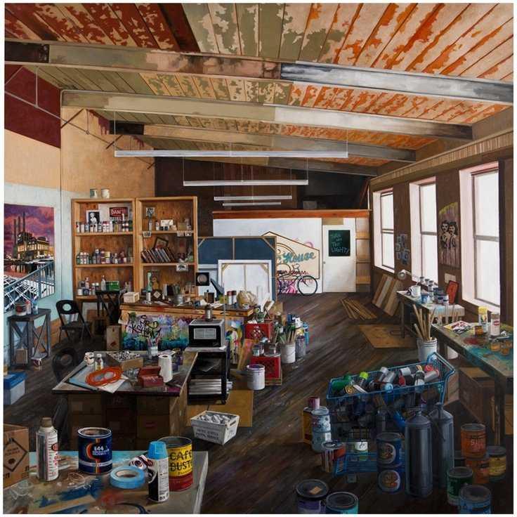 372eaea18c5eb035975b8683969df76e Incríveis espaços de trabalho para artistas