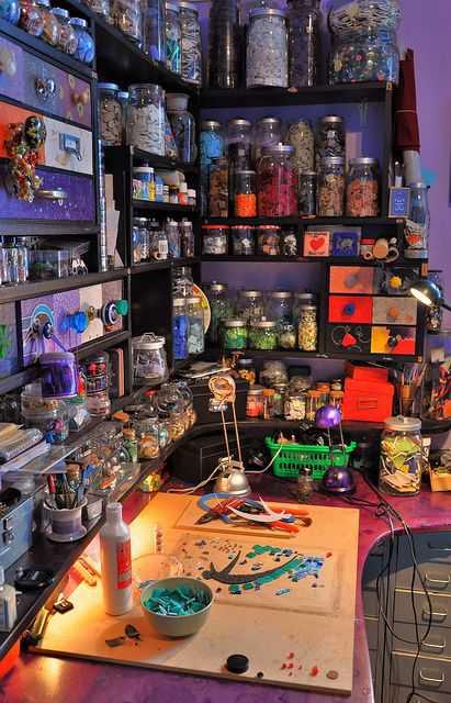 44adb106088b7ed68f71c919782abbc2 Incríveis espaços de trabalho para artistas