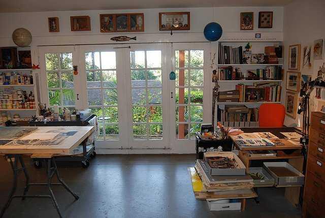 463c81cc803e9d40055e5844f44a11c6 Incríveis espaços de trabalho para artistas