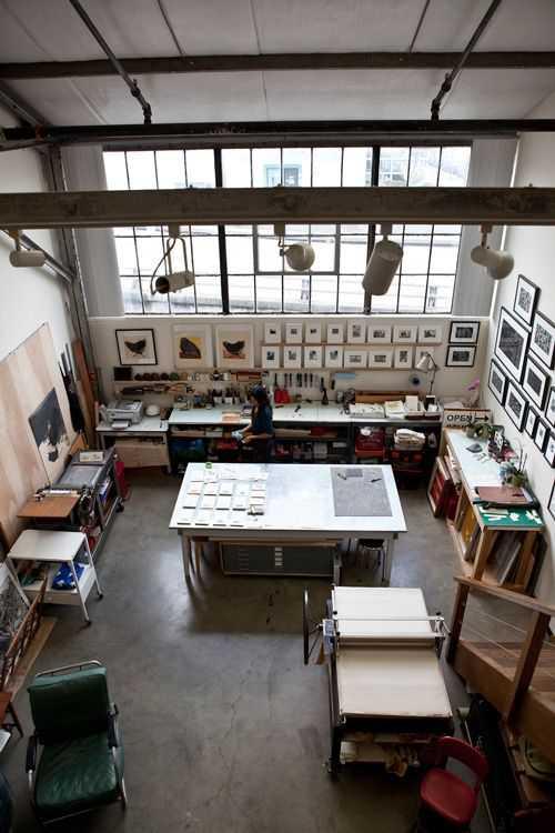 490b3c65eb41e948b67aad363ca45891 Incríveis espaços de trabalho para artistas