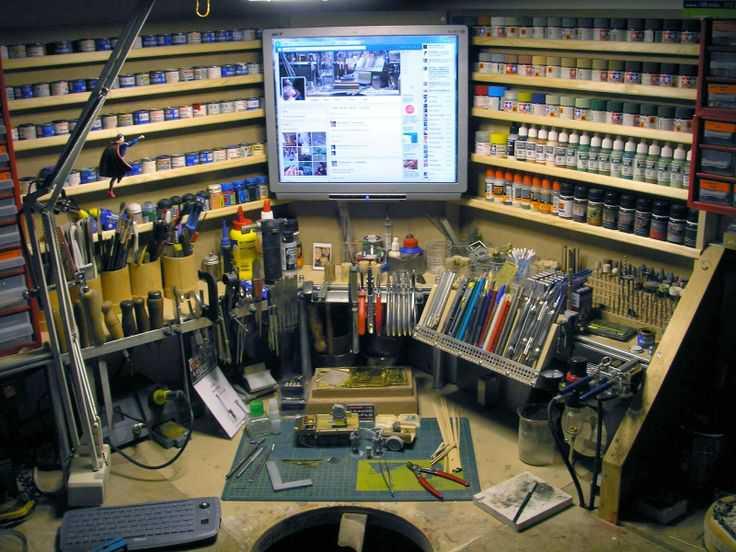 49572d54988584b94137832dbfad9d71 Incríveis espaços de trabalho para artistas