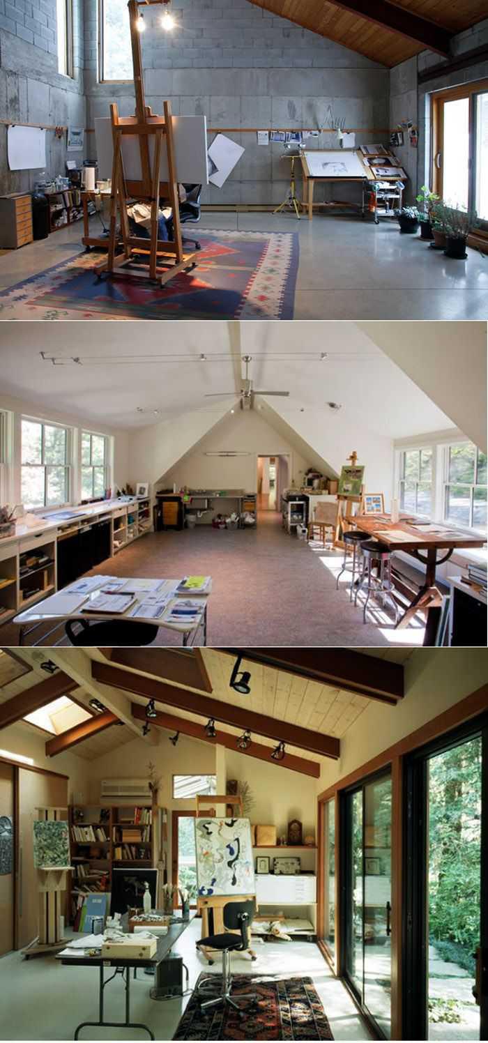63b2a82e63eef9c8bcfb1b26fe37d96f Incríveis espaços de trabalho para artistas