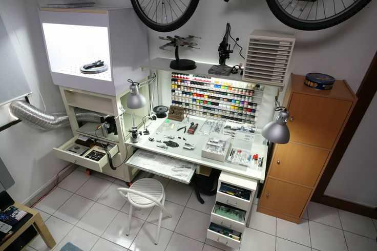 6b65a8da3ca480a273a72fb5244f037b Incríveis espaços de trabalho para artistas
