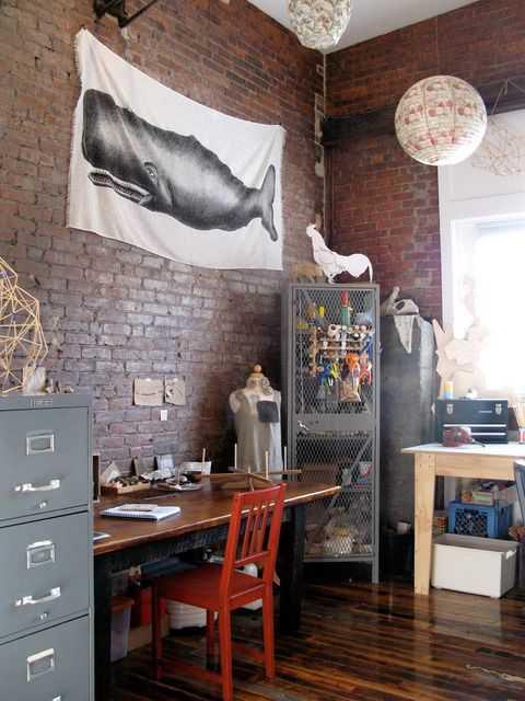 791076fb00e9452f28aa14764234647a Incríveis espaços de trabalho para artistas