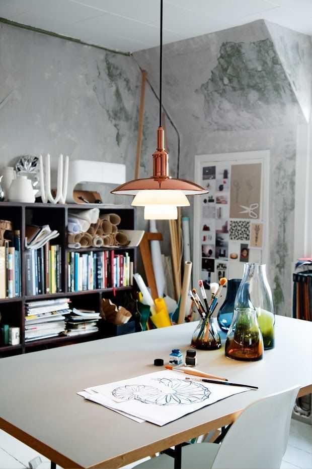 7e396158486b4ae07c4c5cb8e51d5bc8 Incríveis espaços de trabalho para artistas