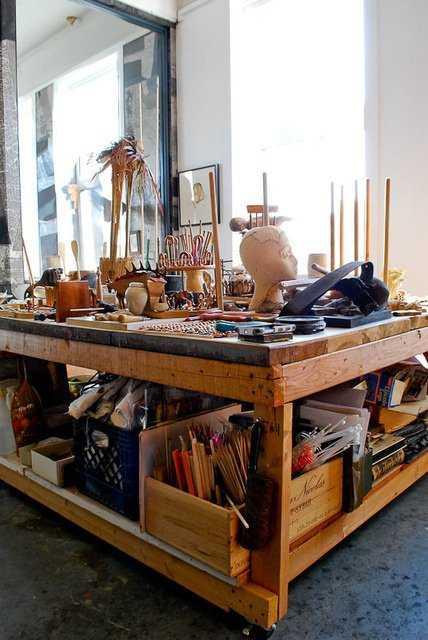 95b130187d54c91a0a4a34032b1c575d Incríveis espaços de trabalho para artistas