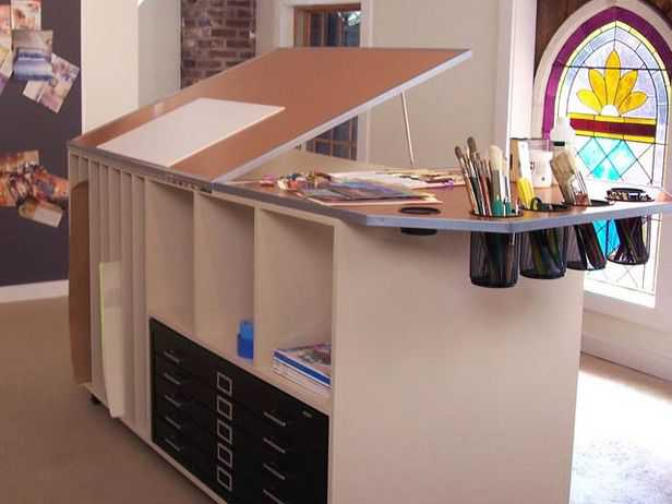 99fefcb01c1f5f18ecb585723bdcca35 Incríveis espaços de trabalho para artistas