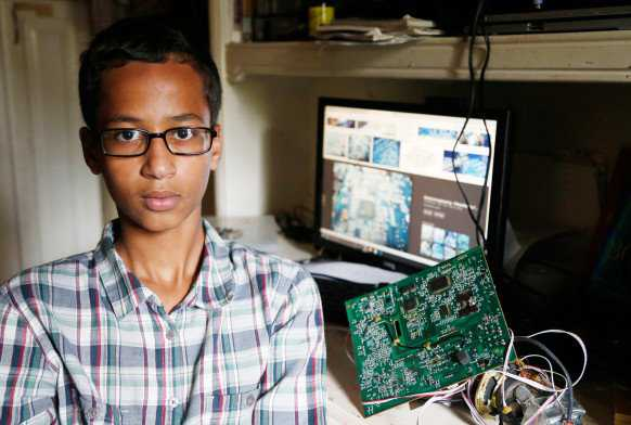 ahmed mohamed featured 582x392 Sobre muçulmanos e bombas