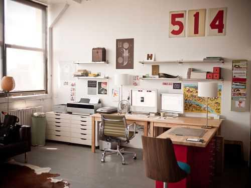 b7be7ca6e0a701b79e64f42d27100711 Incríveis espaços de trabalho para artistas