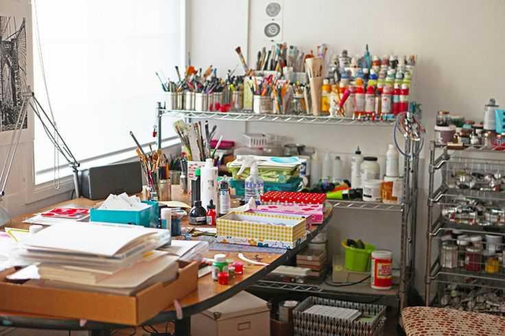 bbc83218189a1d699ef6b840dd8a9c48 Incríveis espaços de trabalho para artistas