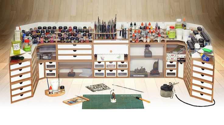 bcbab9ef050308f52f86cc0879dec4e7 Incríveis espaços de trabalho para artistas
