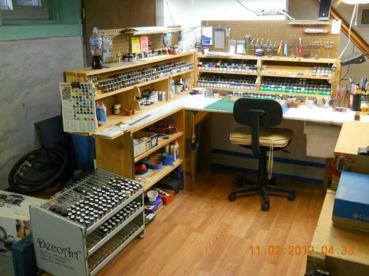 bdf287b660d4699ea8e31081cd8aad2d Incríveis espaços de trabalho para artistas