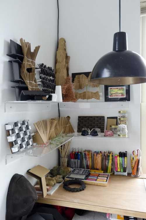 f3d5ddb8af3662ab76b497b52dd44880 Incríveis espaços de trabalho para artistas