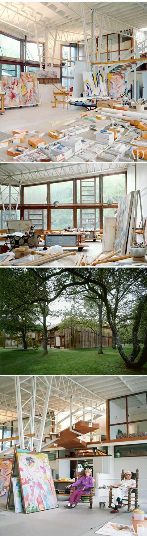 f422ee4b1f63a8d7ff68dfb2adaa38d1 Incríveis espaços de trabalho para artistas