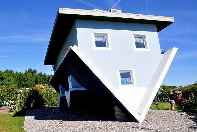 house3 Casas de cabeça para baixo