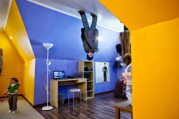 upside down house amazing ideas withunique upside down house designs around the world 26 pics 618x411 Casas de cabeça para baixo
