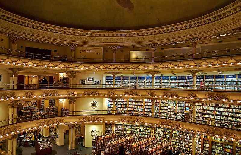 Livraria El Ateneo Buenos Aires 1 A livraria mais estranha do mundo que só tem 1 livro pra vender