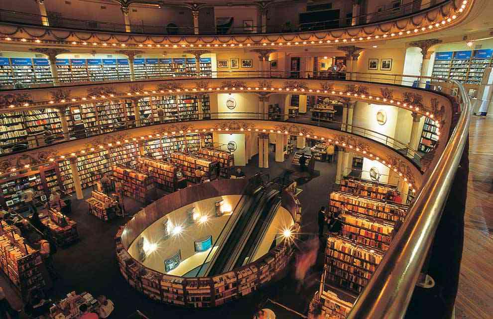 a libreria ateneo im a A livraria mais estranha do mundo que só tem 1 livro pra vender