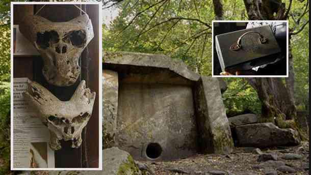 ady11 O mistério dos crânios bizarros descobertos nas montanhas da Russia