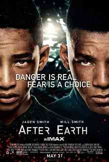 220px After Earth Poster Top filmes de sobreviventes pós apocalípiticos