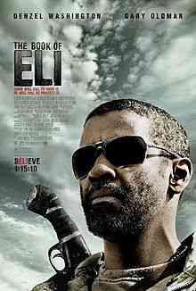 220px Book of eli poster Top filmes de sobreviventes pós apocalípiticos