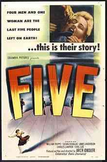 220px Five Poster Top filmes de sobreviventes pós apocalípiticos
