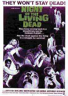 220px Night of the Living Dead affiche Top filmes de sobreviventes pós apocalípiticos