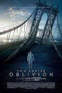 220px Oblivion2013Poster Top filmes de sobreviventes pós apocalípiticos