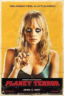 220px Planet terror 1 Top filmes de sobreviventes pós apocalípiticos