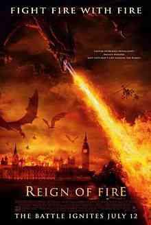 220px Reign of Fire movie Top filmes de sobreviventes pós apocalípiticos