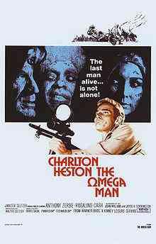 220px The Omega Man Poster Top filmes de sobreviventes pós apocalípiticos