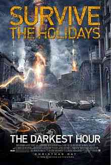 220px The Darkest Hour Theatrical Poster Top filmes de sobreviventes pós apocalípiticos