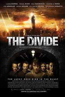 220px The Divide Poster Top filmes de sobreviventes pós apocalípiticos