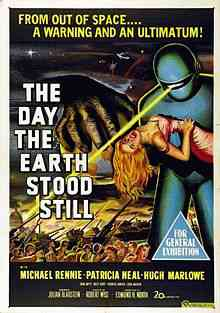 Day the Earth Stood Still 1951 Top filmes de sobreviventes pós apocalípiticos
