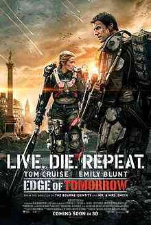 Edge of Tomorrow Poster Top filmes de sobreviventes pós apocalípiticos