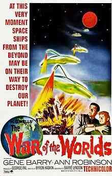 Film1953 TheWarOfTheWorlds OriginalPoster Top filmes de sobreviventes pós apocalípiticos